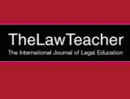 Supporting Online Learning and Teaching: Resources in the Law Teacher