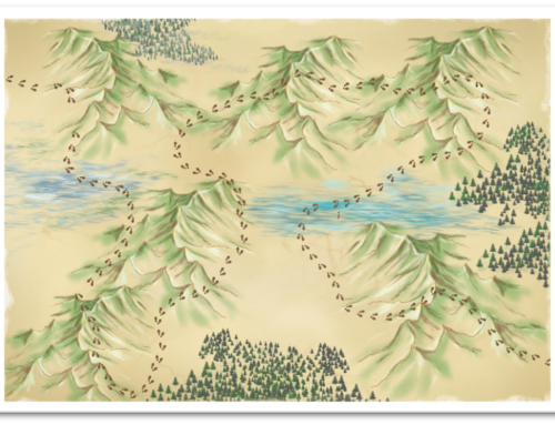 The Mountains of Metaphor: a visual teaching resource