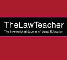 Front Page of the Law Teacher Journal (without content